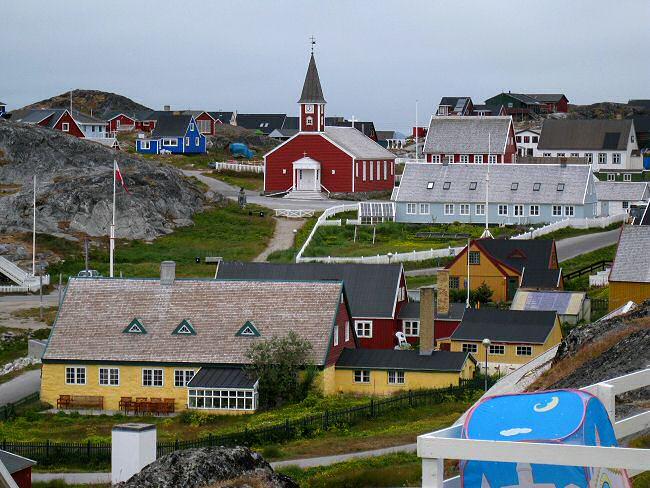 julemandens hus grønland